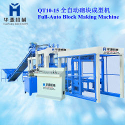 Полностью автоматическая бетонных блоков механизма (QT10-15)