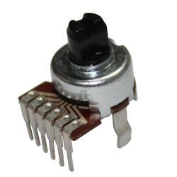 Diamètre 12mm pour le potentiomètre rotatif électronique du ventilateur