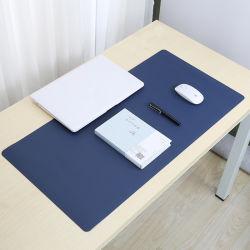Il commercio all'ingrosso di Yugland progetta i rilievi per il cliente di mouse di cuoio dell'unità di elaborazione di stampa in stuoia del mouse del cuoio della stuoia del mouse di promozione