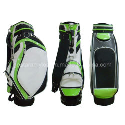 Duelxe PU Design de mode de golf sac de personnel (0909-9507)