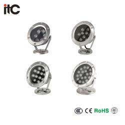 IP67에 의하여 중단되는 LED 방수 지면 지하 빛 LED 가벼운 램프