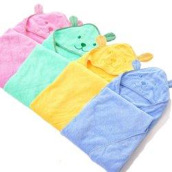 柔らかく、厚い綿の赤ん坊の Hooded 浴室タオルの幼児 と Toddler