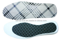 النعل المصنوع من قماش إيفا للأحذية التي تناسب خلات فينيل الإيثيلين (EVA Sole)