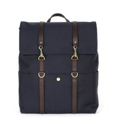Nylon personalizzato di alta qualità con pelle Zaino da uomo per borsa da scuola