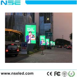 L'extérieur de la rue pleine couleur Pole lumière pour la publicité