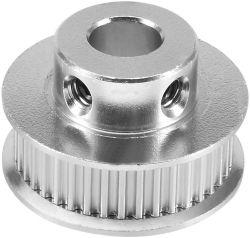 Correa de distribución de la brida de aluminio polea síncrona rueda impresora 3D.