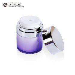 vaso senz'aria acrilico di 50ml 1.7oz con la protezione d'argento