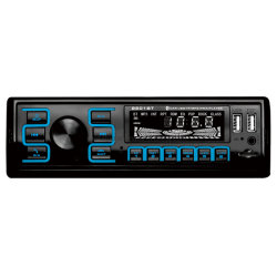 اتصال لاسلكي صوت استريو راديو السيارات العالمي مشغل MP3