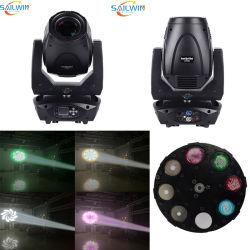 Sailwin Bsw 300W 3en1 LED de iluminación de escenarios moviendo la cabeza a la par de DJ Luz Laser