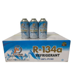 冷却のSystemおよびMachine Used Air条件Gas R134A Refrigerant 390g 3cans