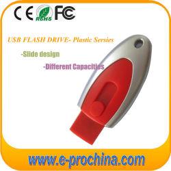 Eindeutige Art förderndes Plastik-Flash-Speicher-Druckknopf USB-Blitz-Laufwerk USB-16GB (EP100)
