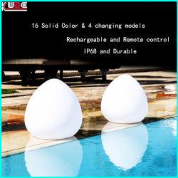 Resistente al agua el cambio de color Lámpara de Sobremesa Lámpara de mesa para Restaurante