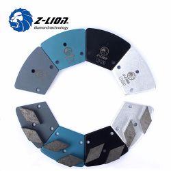 Disco di molatura dei tamponi a cuscinetti per lucidare del pavimento del diamante del metallo per calcestruzzo