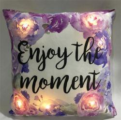A luz de LED decorativas de Páscoa a almofada de almofadas para a temporada de férias Dom