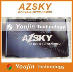 Azsky G2 DVB-S +GPRS Comboafrica G2= G1 адаптер +ЗСТ декодер спутникового ресивера бесплатная доставка