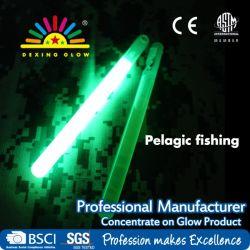 10x150mm verde fosforescente noche de pesca, productos químicos en Glow sticks