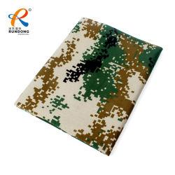 軍隊のための印刷のカムフラージュデザインメモリポリエステルジャケットファブリック