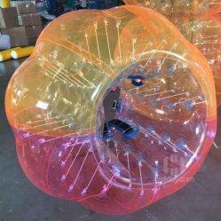 [ميإكس-كلوور] صنع وفقا لطلب الزّبون قابل للنفخ كرة قدم فقاعات إنسانيّة مصدّ كرة لأنّ عمليّة بيع