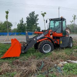 Китай Er425 коробка передач 2.5ton Циндао EPA CE передней тип лопаты Mulcher ковш Small Mini-строительное оборудование механизм колесный погрузчик с сертификат CE