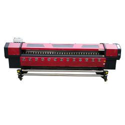 Populaires lourde structure XP600 Solvente Impresora Eco 3,2 M 10FT