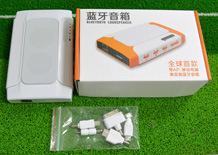 2.0 Alimentación soporte de altavoz Bluetooth WiFi TF, disco USB (B06)