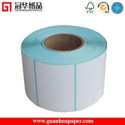 2015 en blanco Blanco barato Rollo de papel de etiqueta térmica directa