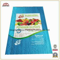 비료, 공급, 쌀을 위한 맞춤형 플라스틱 포장 PP 우븐 자루