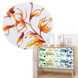 Groothandel nieuwe ontwerper water Transfer Label Printing sterk kleefmiddel 50*70cm Screen Print Transfers voor meubels