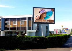 P6mm farbenreiches örtlich festgelegtes LED Panel, hohe Auflösung-im Freienbekanntmachen örtlich festgelegte LED-Bildschirmanzeige