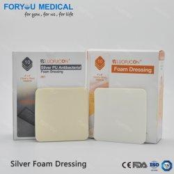 2019 Brand new Ag Argent Ion antibactérien Pansements de mousse pour 7 jours avec la FDA510K