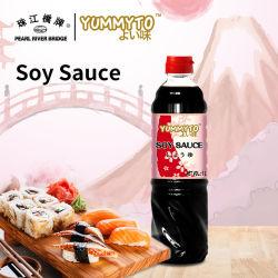 Molho de soja 1L Yummyto Sushi marca o tempero estilo japonês