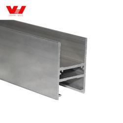 목재 입자 분말 코팅 산화 전기영동 표면 마감 알루미늄 창문 프로필