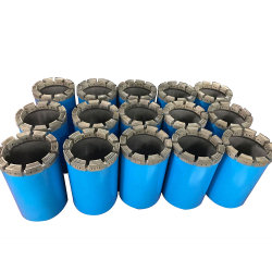 Perforatrice de roches utiliser BW, NW, HW, Pw Sabots imprégnés