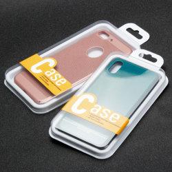 Zoll Ihr Firmenzeichen billig kleines transparentes PlastikpapieriPhone Handy-Fall-Kasten Packagecell Telefon-verpackenkasten für Telefon