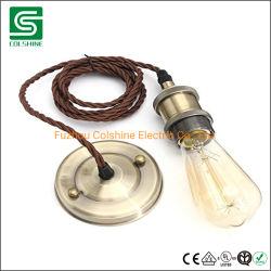 Techo de metal Rose con lámpara colgante de tazas de portalámparas E27