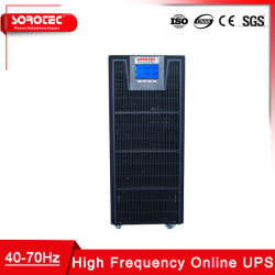 أحادي الطور عالي التردد 1كيلوفولت أمبير - 20 كيلوفولت أمبير، طاقة نظام إمداد الطاقة غير القابل للانقطاع (UPS) عبر الإنترنت إمداد شركة الاتصالات