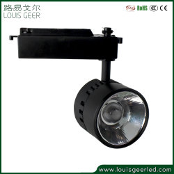 Distributeur de lumière LED Intérieur COB voie Ce RoHS Angle de faisceau réglable 30W 15 à 38 degré