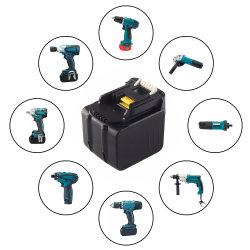 리튬 이온 14.4V 6000mAh 12셀 전동 공구 배터리 팩 Makita Bl1430 Bl1415 Bl1440 1940661-1 194065-3