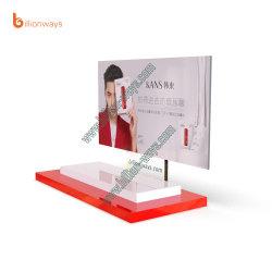 Роскошные розничный магазин макияж и косметический акриловый дисплей для установки в стойку
