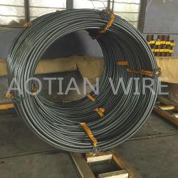 Étiré à froid 10b30 de fixation de phosphate de recuit du PIRS Chq couché de fixation du fil en acier au bore