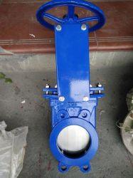 Venda a quente China Roda Supplyer Di Corpo Semi-Lugged Chorume válvula gaveta da faca