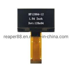 1,54-дюймовый OLED дисплей 128 X64 черно-белого цвета