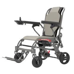 Leichte bewegliche Kohlenstoff-Faser, die elektrischen Rollstuhl für Behinderte faltet