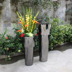 주식에 있는 고품질 가구 인공 꽃 남비