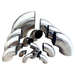 Le raccord en acier inoxydable sanitaires à long rayon/rayon court tuyau de raboutage coude à 90 degrés