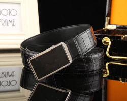 Luxus Mode Echt Leder Mann Gürtel