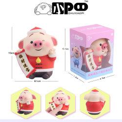 Venta caliente cerdo pedo bendición Squishy encantador juguete para niños y adultos