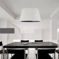 Soggiorno cucina Hanging Calendario paralume bianco lampada a LED moderno pendente Lampada lampada a sospensione stile nordico