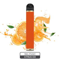 شريط بوبر خرطوشة التبخير 1600 سلحارة السجائر الإلكترونية الضخمة السجائر الإلكترونية القابلة للاستخدام من البوب