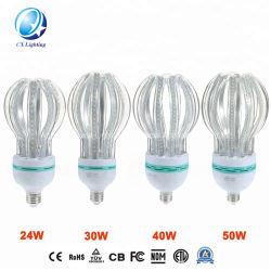 Высокая мощность Lotus CFL светодиодный свет лампы 45W энергосберегающая лампа B22 E27 4U, 5u 110-130V RoHS 220-240 В с маркировкой CE,